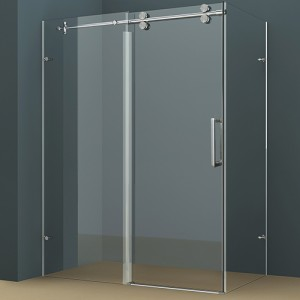Double Theshold Shower Door