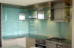 Residential Glass Splashback